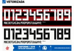 Fonte Flamengo Adidas 2019