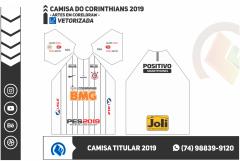 Uniforme Corinthians - Titular 2019