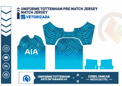 Tottenham Pre Match Jersey