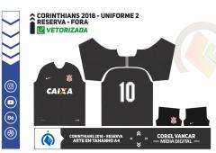 UNIFORME 2 - CORINTHIANS 2018