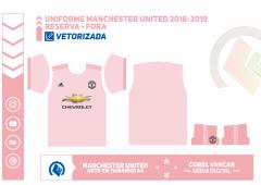 Uniforme Manchester United 2018-2019 - Reserva - Fora