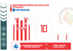 Uniforme Olympiacos 2019-2020