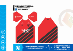 Uniforme do Athletico PR / Titular 2019