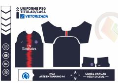 Uniforme PSG  2018-2019
