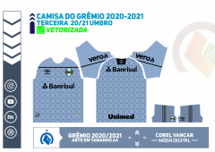 Terceira camisa do Grêmio Umbro 2020-2021