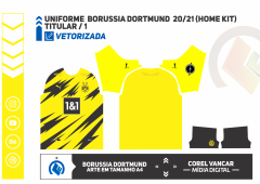 Uniforme  Borussia Dortmund  2020-2021 Modelo III