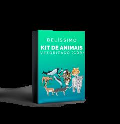 Kit com Desenhos de Animais