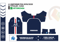 UNIFORME PSG 2019 - 2020