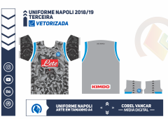 Uniforme Napoli 2018-19 - TERCEIRA
