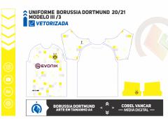 Uniforme  Borussia Dortmund  2020-21 Modelo III