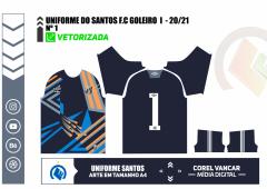 Camisa Umbro Santos Goleiro 2020
