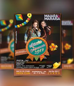 Flyer Cartaz Festa Junina