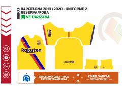BARCELONA 2019  - 2020 - UNIFORME 2