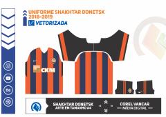 Uniforme Shakhtar Donetsk 2018-2019