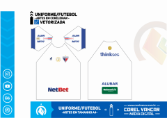 Uniforme do Fortaleza Reserva / 2019