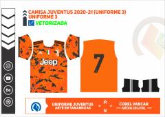 Camisa Juventus 2020-21 (Uniforme 3)