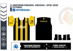 Uniforme Peñarol Puma 2019 - Futebol