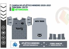 Terceira Camisa do Atlético Mineiro 2020-2021
