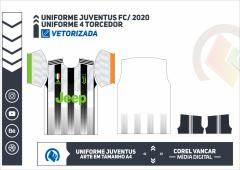 JUVENTUS FC 2020, UNIFORME 4 TORCEDOR