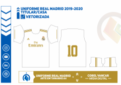 Uniforme Real Madrid 2019-2020