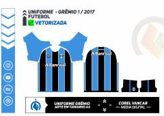 GRÊMIO 2017 - UNIFORME 1