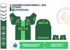 CHAPECOENSE 2016.2017 - UNIFORME 3