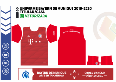 Uniforme Bayern de Munique 2019-2020