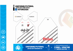 Uniforme do Athletico PR / Reserva 2019