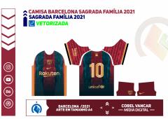 Camisa Barcelona Sagrada Família 2021