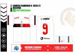 Camisa Flamengo II 20-21