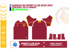 Camisas do Sport Club UMBRO 2020-2021