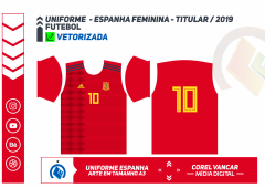 ESPANHA FEMININA - TITULAR 2019