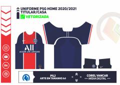 Camisa PSG Home 2020-2021