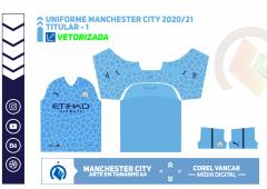 Uniforme Manchester City 2020-2021