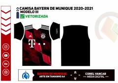 CAMISA BAYERN DE MUNIQUE 2020-2021