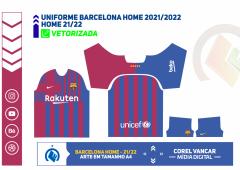 Uniforme Home Barcelona 2021-2022