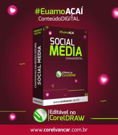 Pacote Social Media, Açaí (para campanhas em redes sociais como FACEBOOK, INSTAGRAM E WHATSAPP)