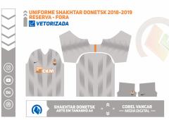 Uniforme Shakhtar Donetsk 2018-2019 - RESERVA - FORA