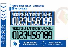 Fonte NIKE Inter de Milão-2019-2020 Original