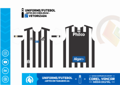 Uniforme do Santos Reserva - 2019