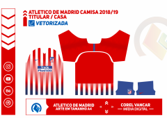 Uniforme Atletico Madrid - 1