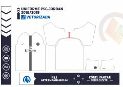 Uniforme PSG  2018-2019 - 4