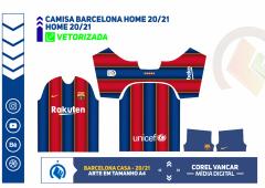 Camisa Barcelona Home 2020-2021