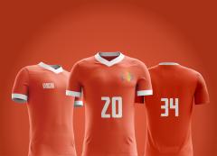 Camisa Esportiva -  Futebol - Britânia Manga Raglã