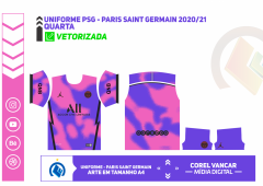 UNIFORME PSG - PARIS SAINT GERMAIN 2020-21