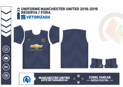 Uniforme Manchester United 2018-2019