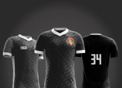 Camisa Esportiva - Futebol - Modelo Black