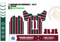 Camisa Fluminense I 2020-21 - Titular