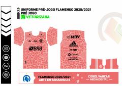 Uniforme Pré-Jogo - Flamengo 2020-2021