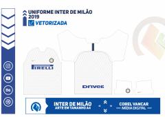 Uniforme Inter de Milão 2018-2019 - 2